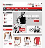 Fashion ZenCart  Template 41120