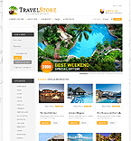 Travel VirtueMart  Template 41126