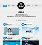 Web design Joomla  Template 41128