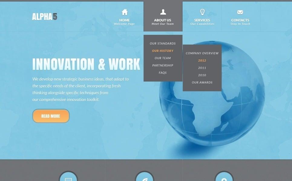IT Weboldal sablon New Screenshots BIG