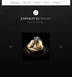 Jewelry Facebook HTML CMS  Template 41153