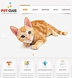 Animals & Pets Facebook HTML CMS  Template 41164