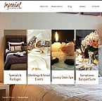 Hotels Facebook HTML CMS  Template 41168