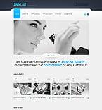 Science Website  Template 41179