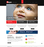 Charity Website  Template 41188