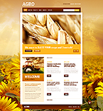 Agriculture Website  Template 41189