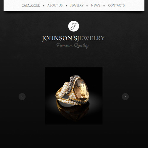 Johnson Jewelry - Facebook HTML CMS Template