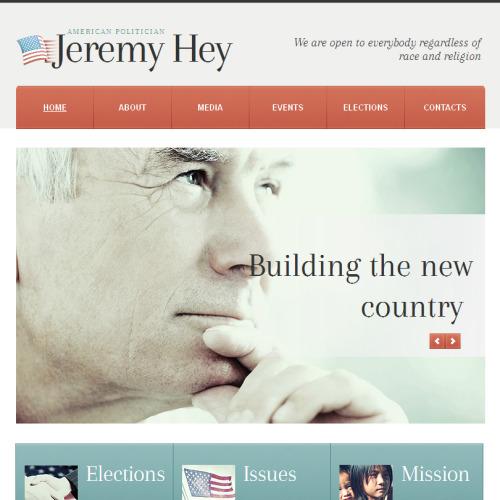 Jeremy Hey - Facebook HTML CMS Template