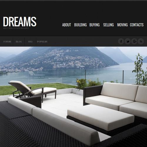 Dreams - Facebook HTML CMS Template