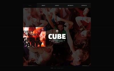 Night Club Шаблон сайту