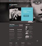 Charity Website  Template 41213
