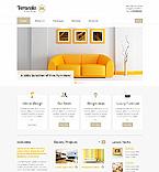 Furniture Website  Template 41215