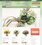 Flowers PrestaShop Template 41216