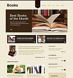 Books Moto CMS HTML  Template 41229
