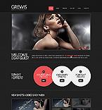 Art & Photography Website  Template 41241