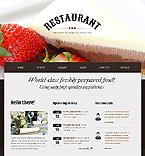 Cafe & Restaurant Drupal  Template 41242