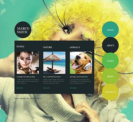Drupal Template 41243 Main Page Screenshot