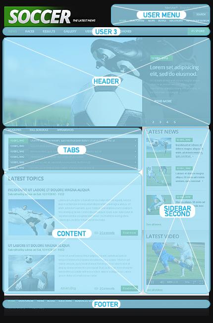 Drupal Template 41245 Main Page Screenshot