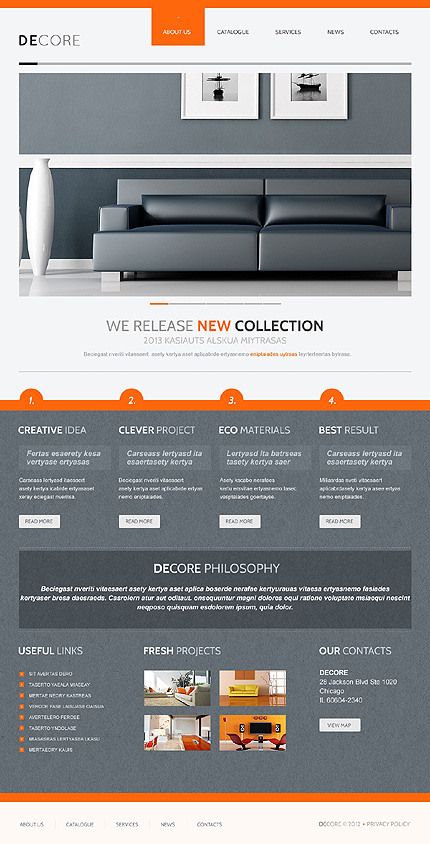 Joomla Theme/Template 41246 Main Page Screenshot