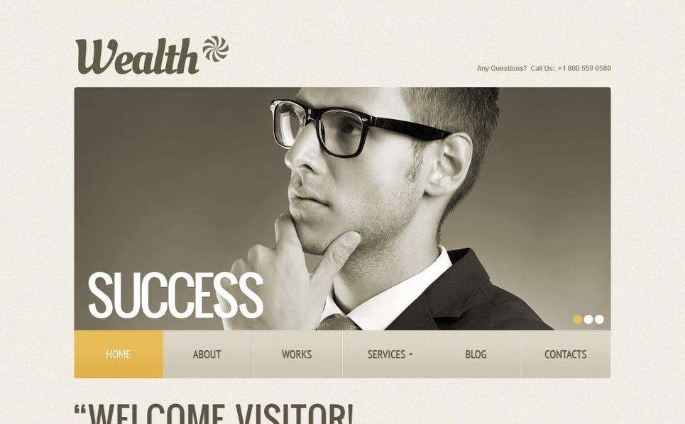 Šablona webových stránek Poradenství New Screenshots BIG