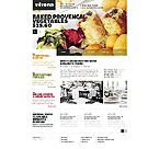 Cafe & Restaurant Website  Template 41265