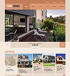 Real Estate Website  Template 41268