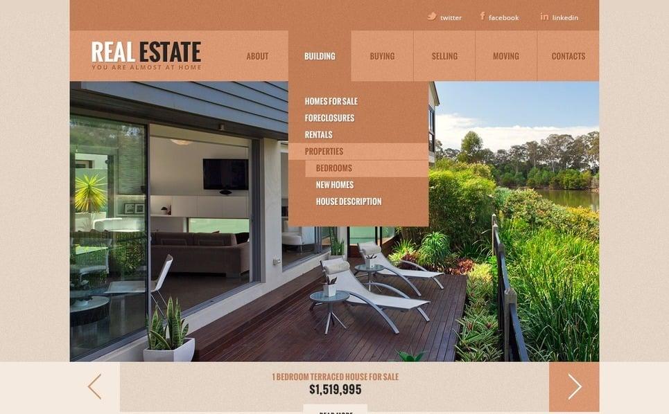 Emlak Ofisi  Web Sitesi Şablonu New Screenshots BIG