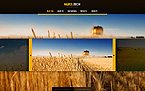 Agriculture Website  Template 41279