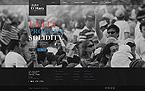 Politics Website  Template 41280