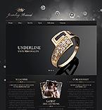 Jewelry Website  Template 41287