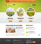 Agriculture Website  Template 41293