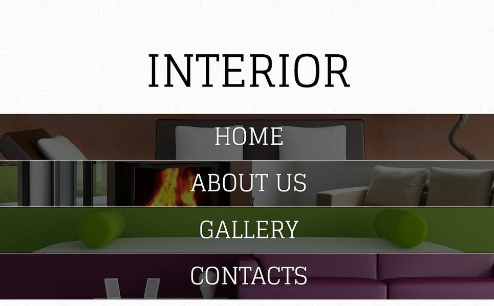 Template Web para Sites de Design Interior №41294 New Screenshots BIG