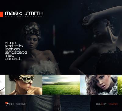 Photographer Portfolio Moto CMS HTML šablona
