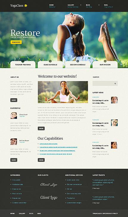 Joomla Theme/Template 41310 Main Page Screenshot