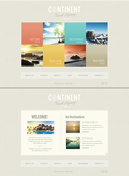 ADOBE Photoshop Template 41314 Home Page Screenshot