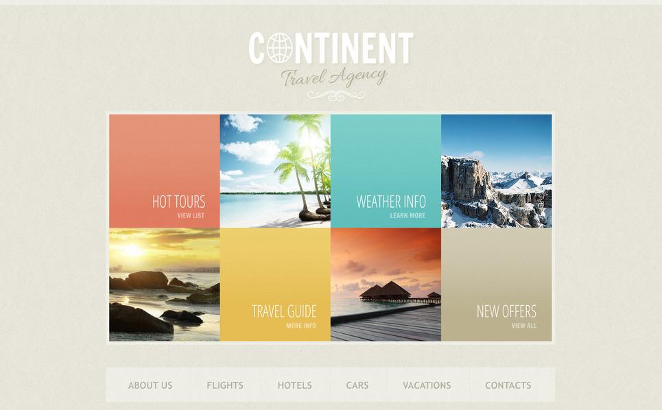 Moto CMS HTML Vorlage für Reisebüro  New Screenshots BIG