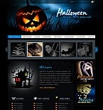 Halloween Flash CMS  Template 41331
