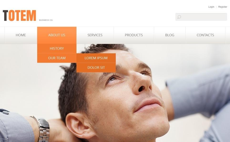 Responsive Website template over Raadpleging  New Screenshots BIG