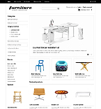 Furniture OpenCart  Template 41336