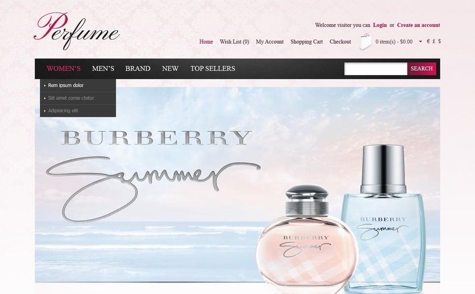 Thème OpenCart  pour boutique de cosmétique  New Screenshots BIG