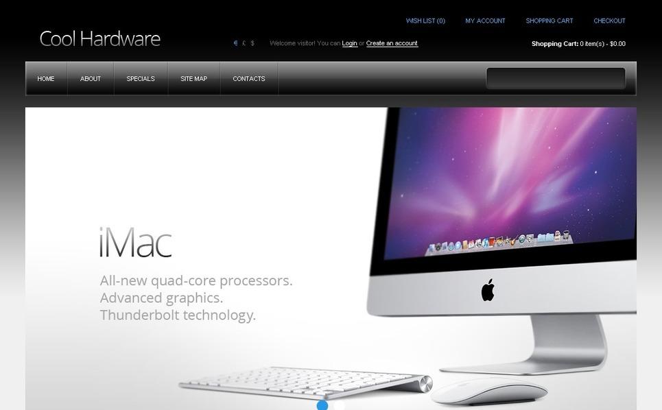 OpenCart Template over Computers New Screenshots BIG