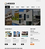 Architecture Flash CMS  Template 41373