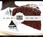 Cafe & Restaurant Flash CMS  Template 41377
