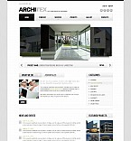 Architecture Flash CMS  Template 41384
