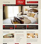 Hotels Flash CMS  Template 41385