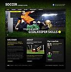 Sport Flash CMS  Template 41391