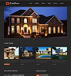 Real Estate Flash CMS  Template 41393