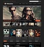 Entertainment Flash CMS  Template 41394