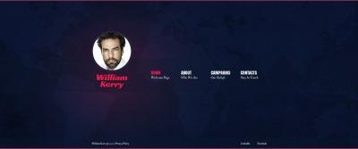 HTML шаблон №41363 на тему политический кандидат