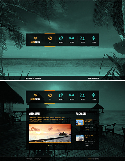 ADOBE Photoshop Template 41400 Home Page Screenshot